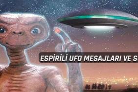 espirili ufo sözleri ve mesajları