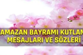 ramazan bayramı kutlama mesajları ve sözleri