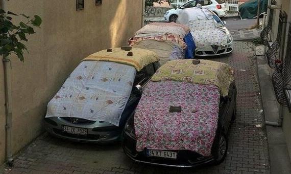 doludan araç koruma yöntemleri
