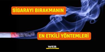 sigarayı bırakmanın en etkili yöntemleri