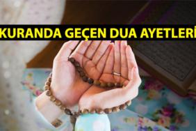 kuranı kerimde geçen dua ayetleri