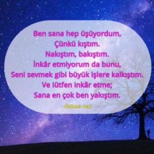 i̇yi geceler şiiri kısa