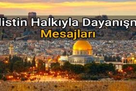 dünya filistin halkıyla dayanışma günü mesajları