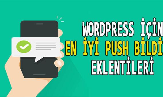 wordpress web siteniz i̇çin en i̇yi 6 push bildirim eklentisi