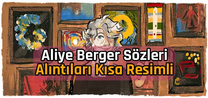 Aliye Berger Sözleri