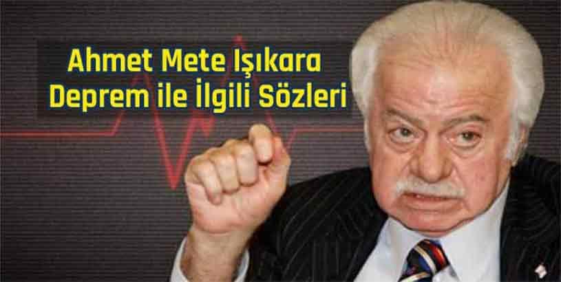 Ahmet Mete Işıkara Sözleri