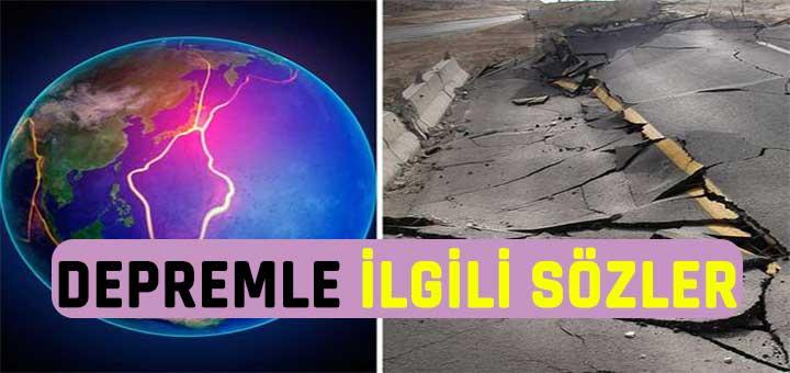 Deprem Haftası ile İlgili Sözler ve Mesajlar