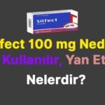 silfect 100 mg nedir, nasıl kullanılır, yan etkileri